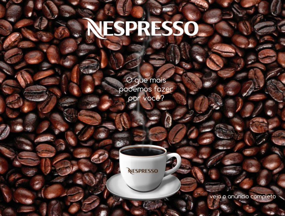 Anúncio Interativo Nespresso