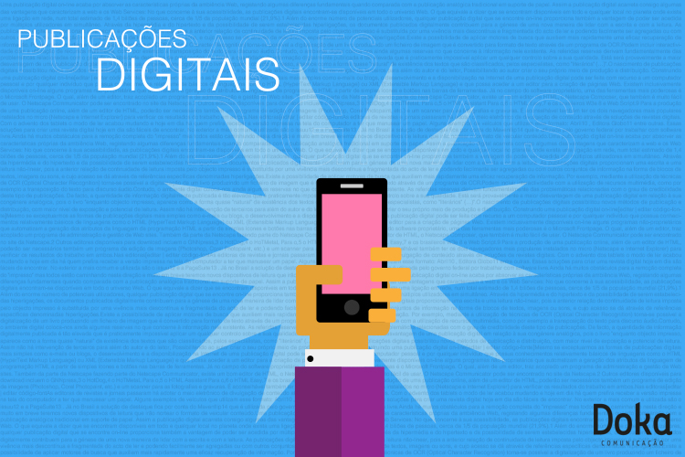 Publicações Digitais para Tablets e Smartphones 1 - Doka Comunicação