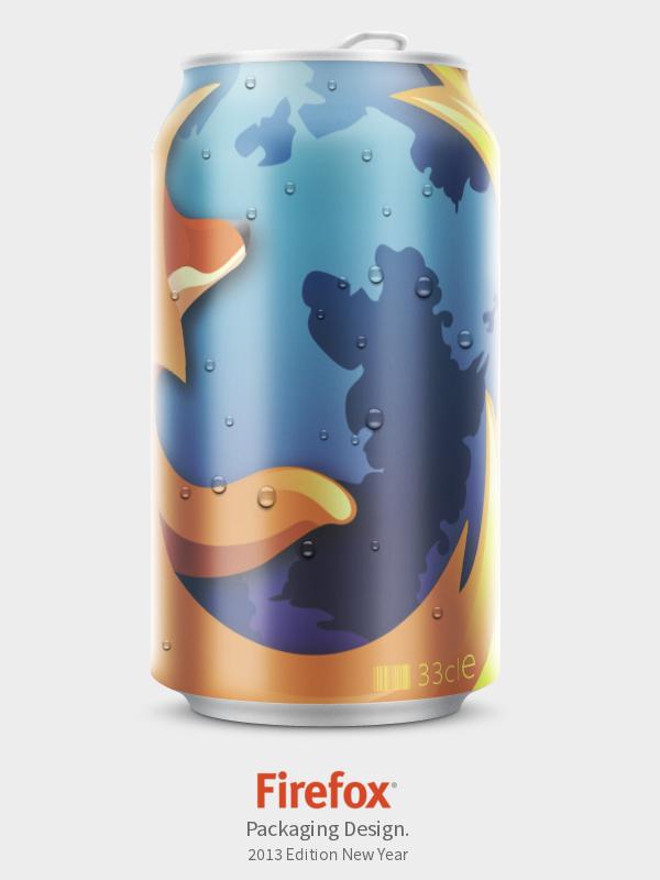 Firefox Latinhas de refrigerante - Doka Comunicação