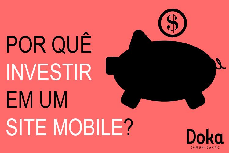 Orçamento sobre site mobile