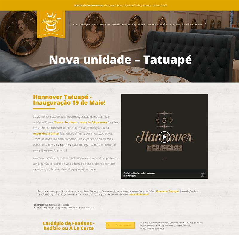 Blog para restaurante- Blog do restaurante Hannover Tatuapé - Marketing para restaurante