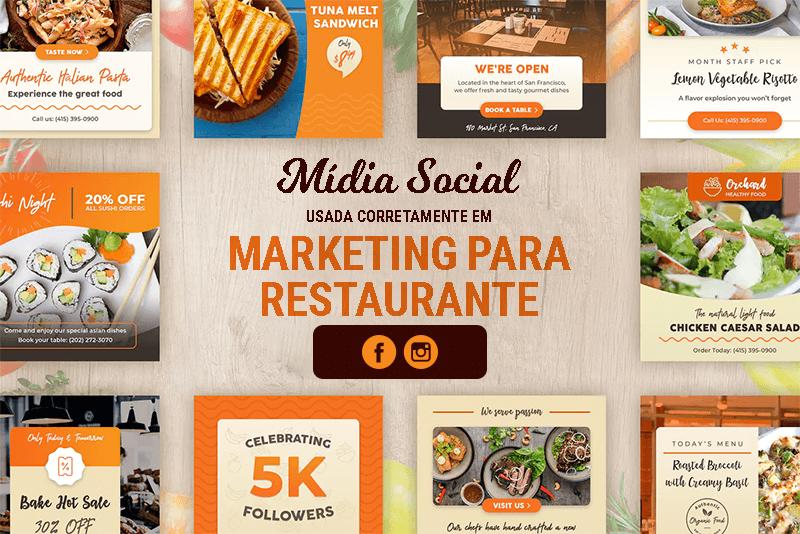 Redes sociais para restaurantes - Marketing para Restaurante