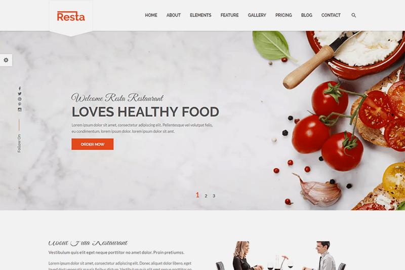 Site para restaurante - Doka Comunicação